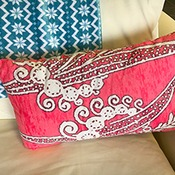 Custom Minky Decorative Pillow - 12 inches x 18 inches - Throw Pillow Cover